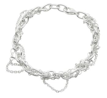 Multi Chain Silver Bracelet