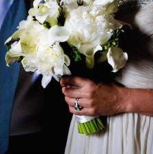 Karen Emerald Engagement Ring
