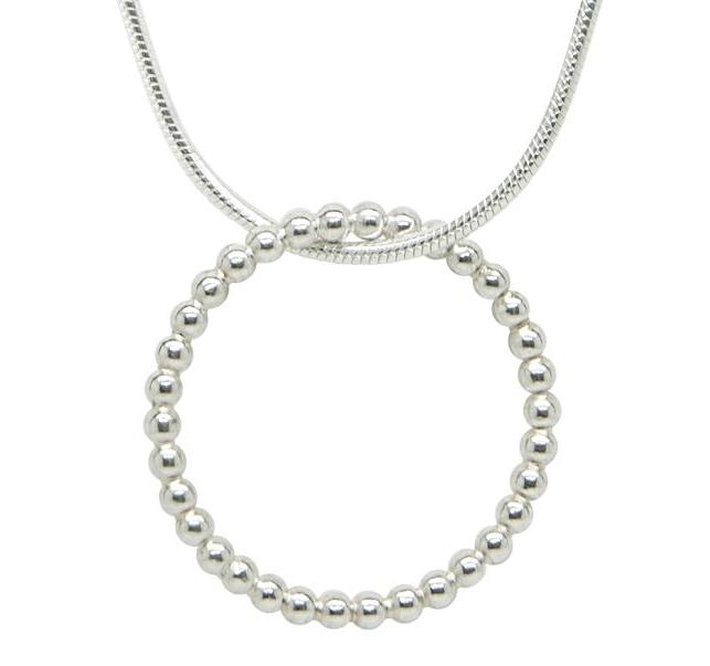 Little Bubbles Silver Pendant