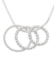 Alto Trios Silver Pendant