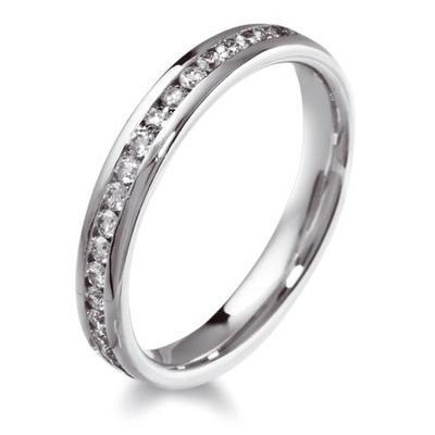 Half Eternity Brilliant Cut Diamond Ring