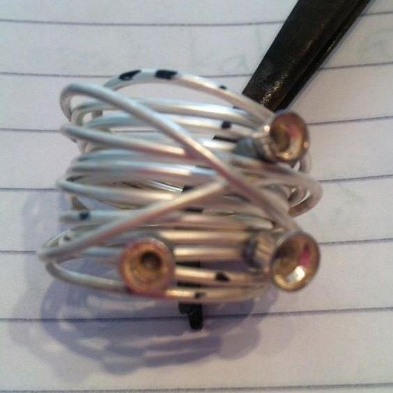 bespoke silver ring