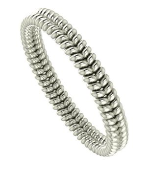 Twisted Up - White Gold wedding ring