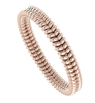 Twisted Up - Rose Gold Wedding Ring