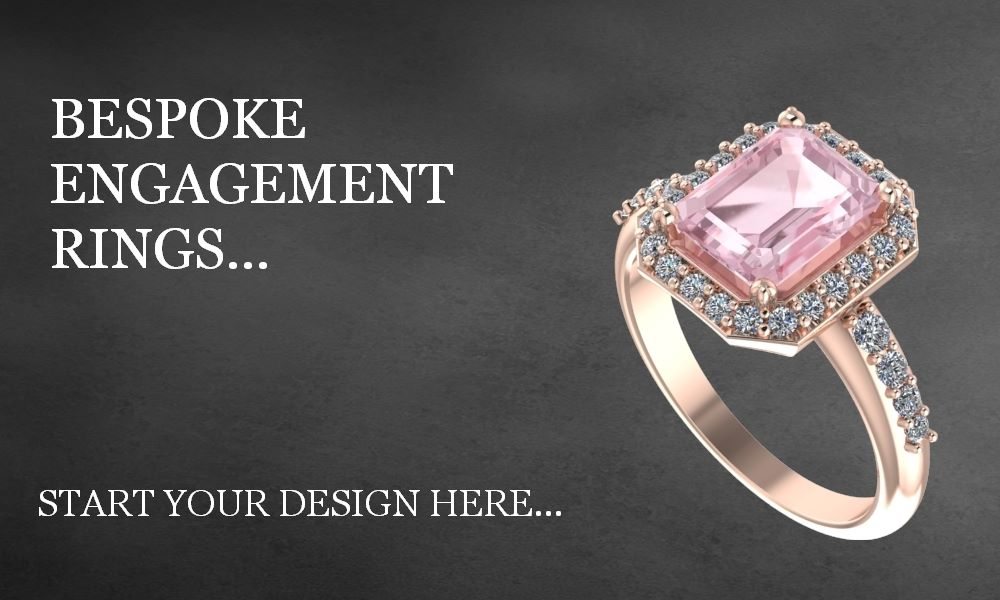 Bespoke engagement rings, bespoke jewellery