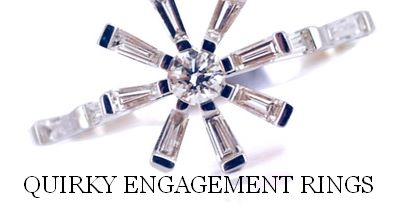 Quirky Engagement Rings