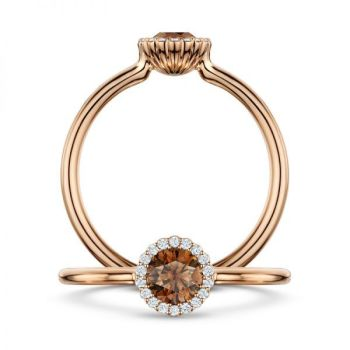 Cannelle Chocolate_diamond and rose gold