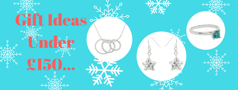 Christmas jewellery gifts under £150
