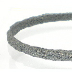Frozen Sand Silver Bangle