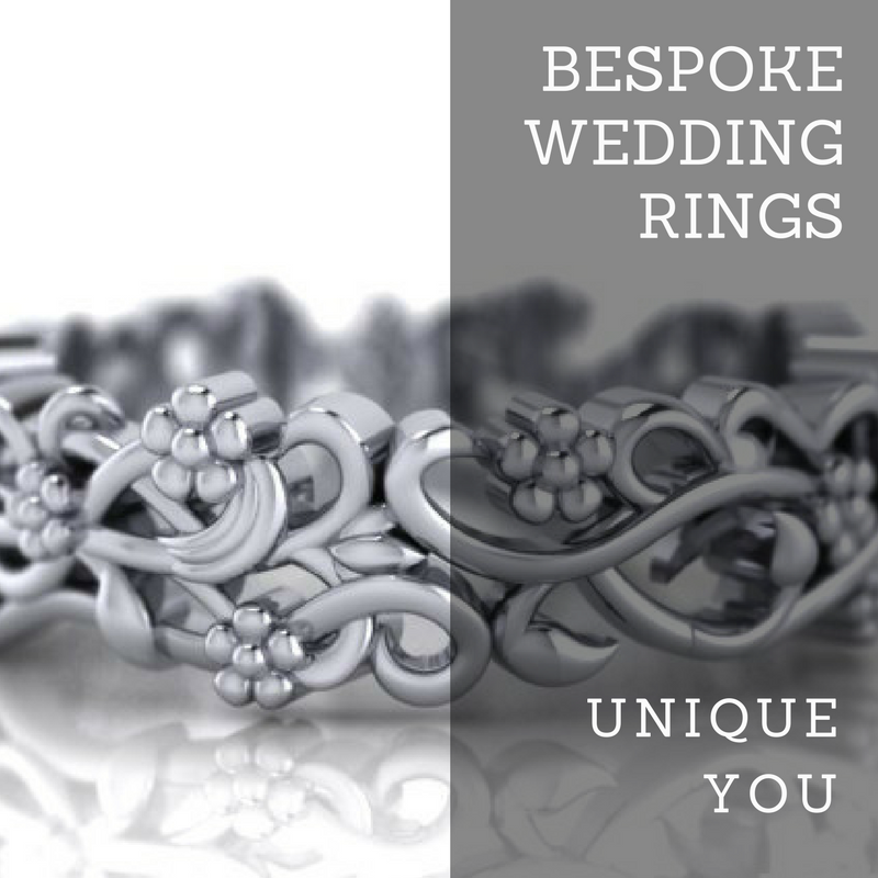 Bespoke wedding rings, unique you