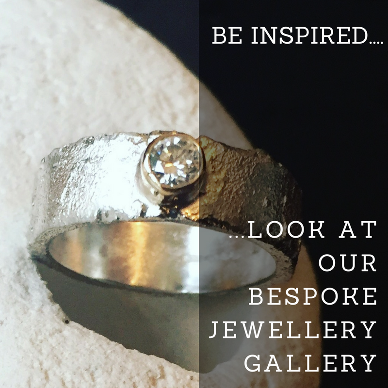 Be inspired, look at our bespoke jewellery gallery