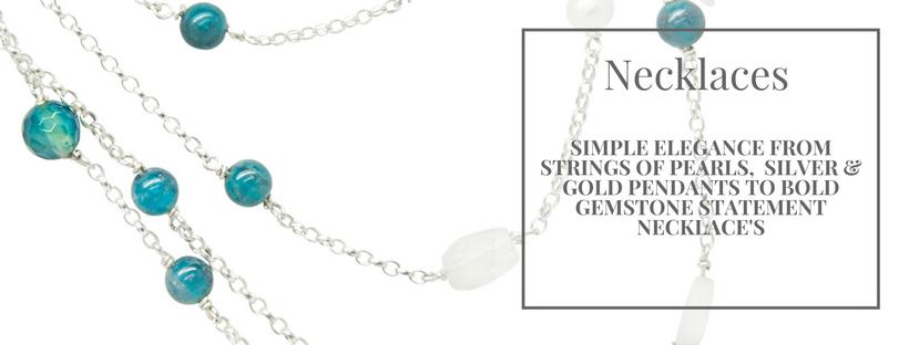 Shop our handmade, exclusive necklaces