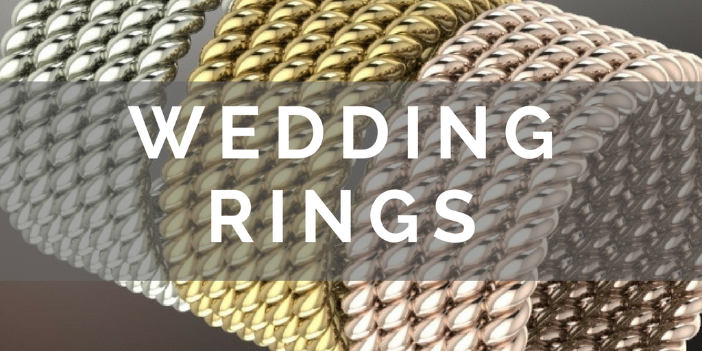 Unique and unusual exclusive wedding rings