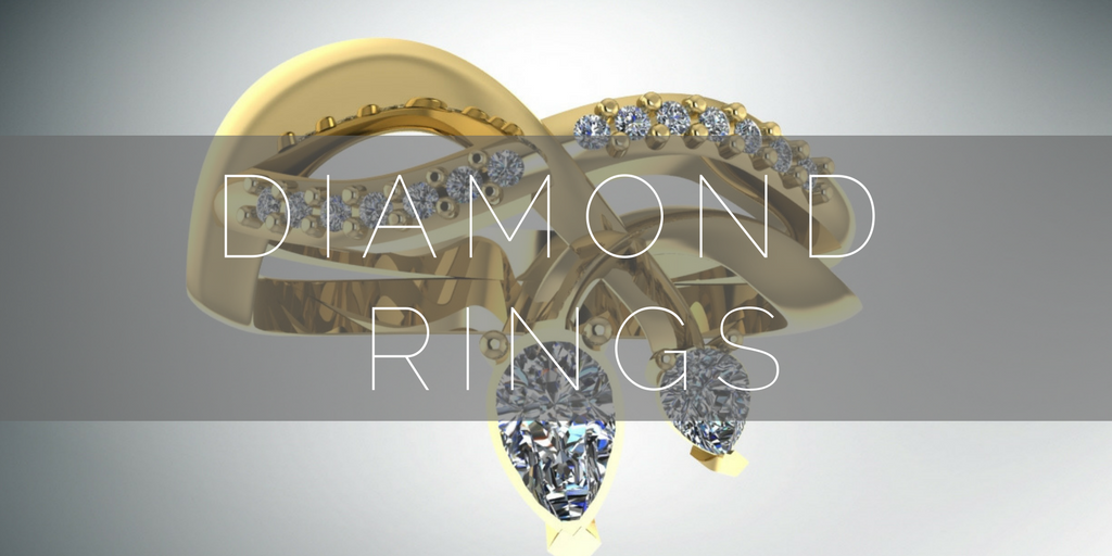 View our unique and  contemporary diamond rings here.
