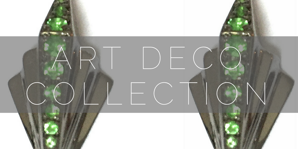 Art deco inspired jewellery collection