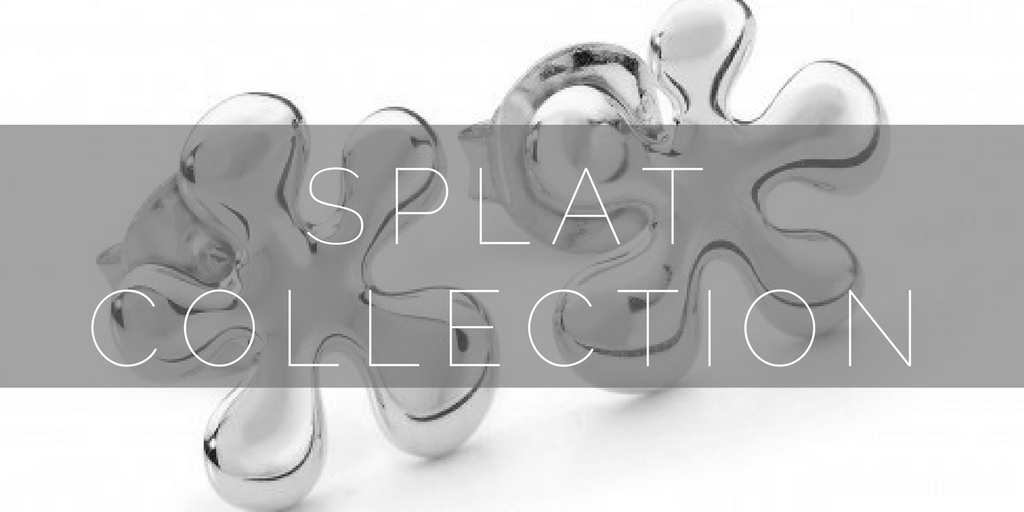 Splat contemporary silver jewellery collection