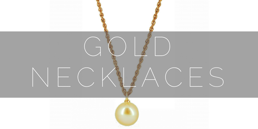 Shop our gold necklaces, diamonds and pearls