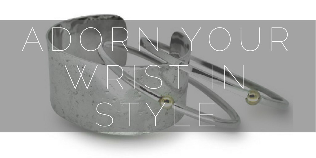 Adorn your wrist in style, contemporary bangles and bracelets