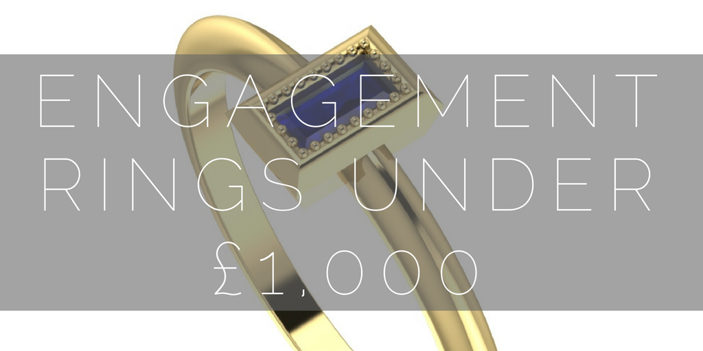 Engagement Rings Under £1000