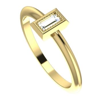 Starflower: Diamond and yellow gold