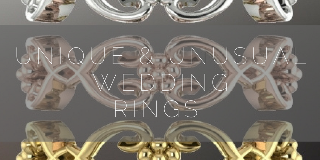 Unique and unusual wedding rings