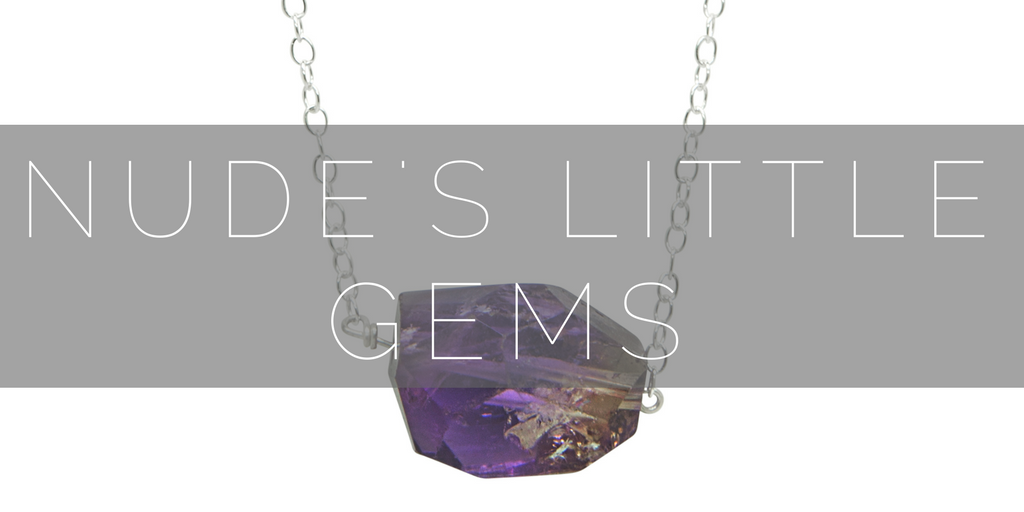 A range of contemporary gemstone jewellery