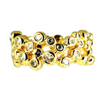 Bubble Eternity Ring