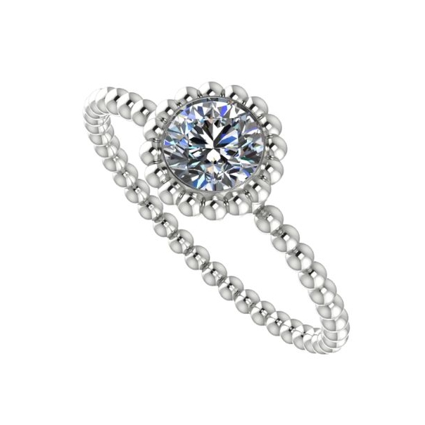 The Majestic Ring, unusual diamond enagement ring