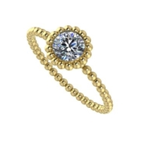 Alto Majestic Ring -Yellow Gold and Diamond.
