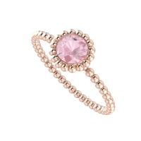 Alto Majestic Ring - Rose Gold and Morganite