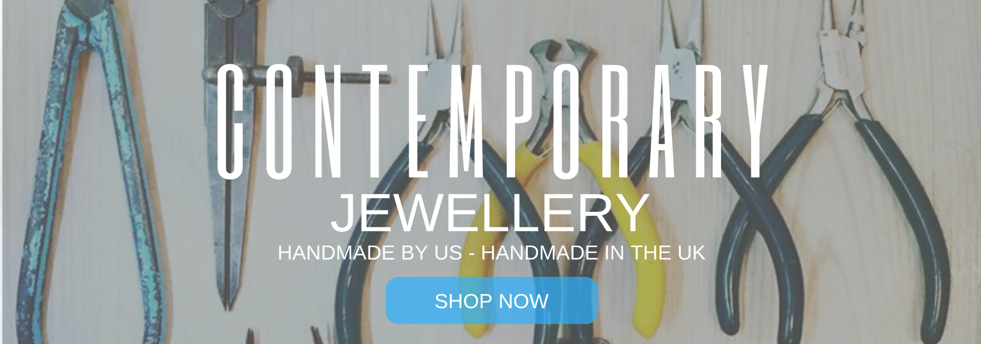 Contemporary Jewellery, Handmade by us, handmade in the UK
