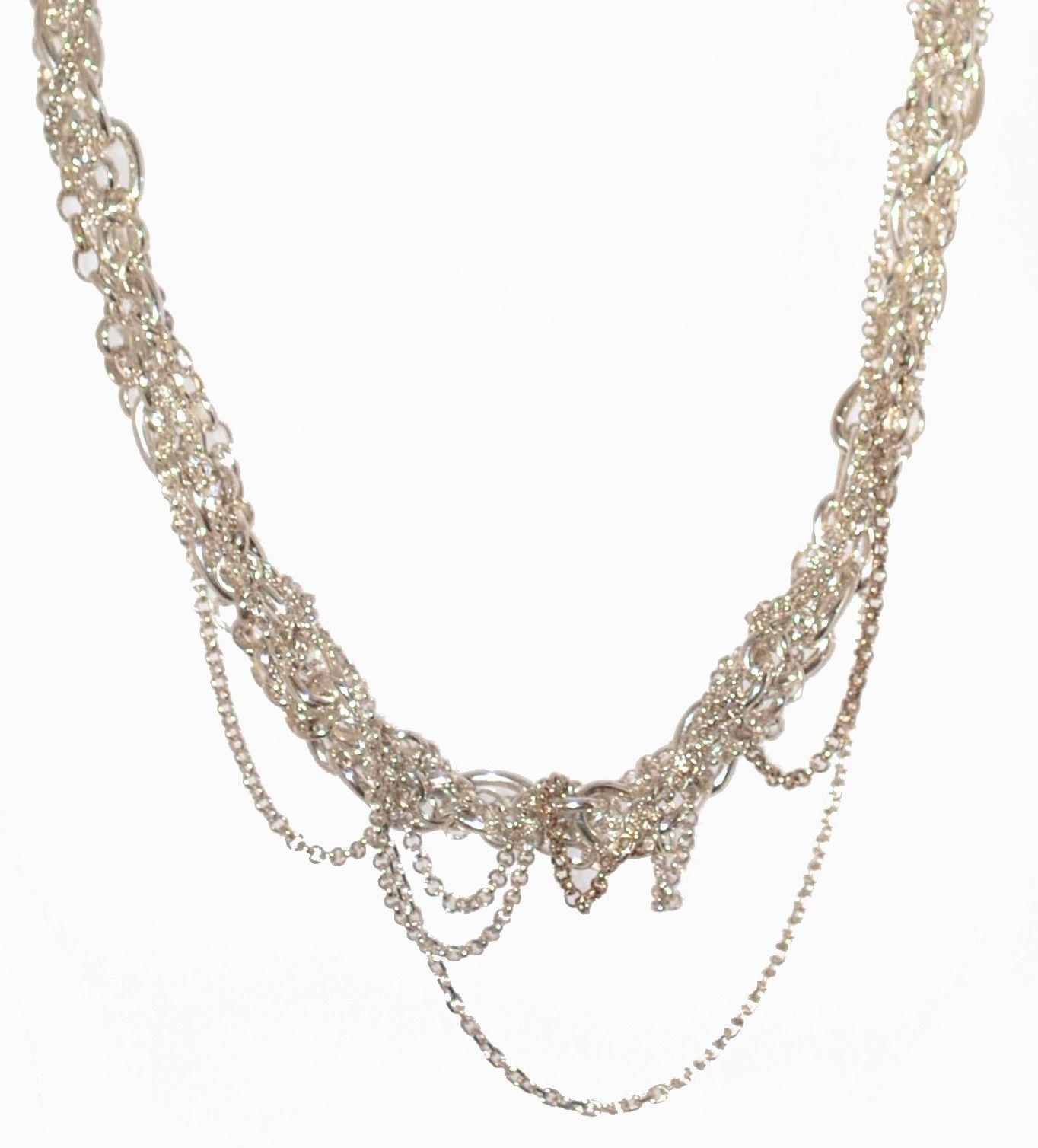 Shop silver designer necklaces