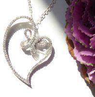 Butterfly Heart Pendant