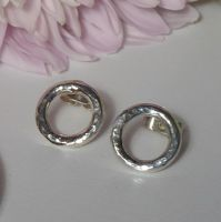 Silver Vanilla Earrings