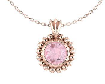 Alto Majestic - Rose Gold and Morganite