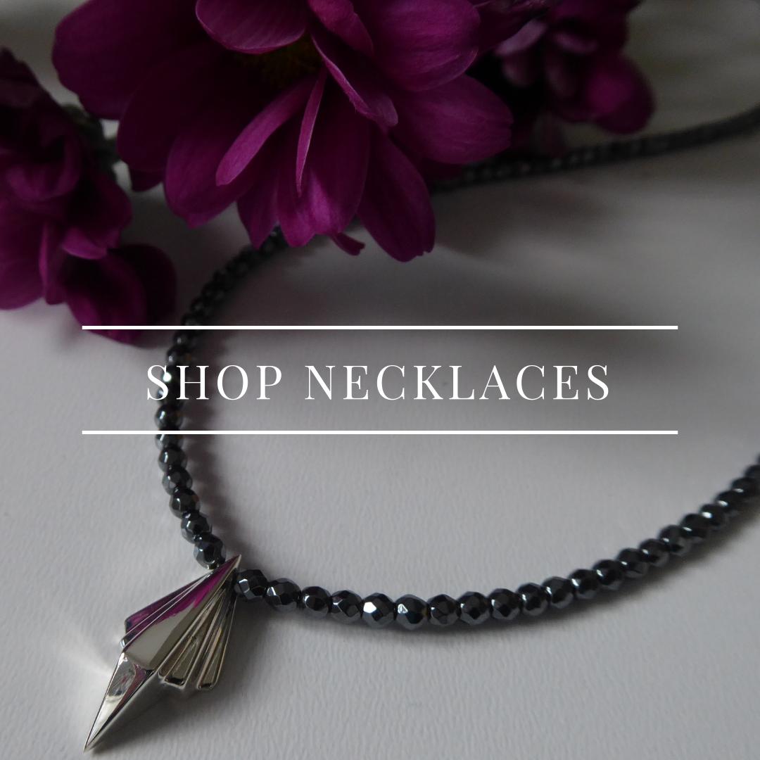 Shop necklaces - art deco style