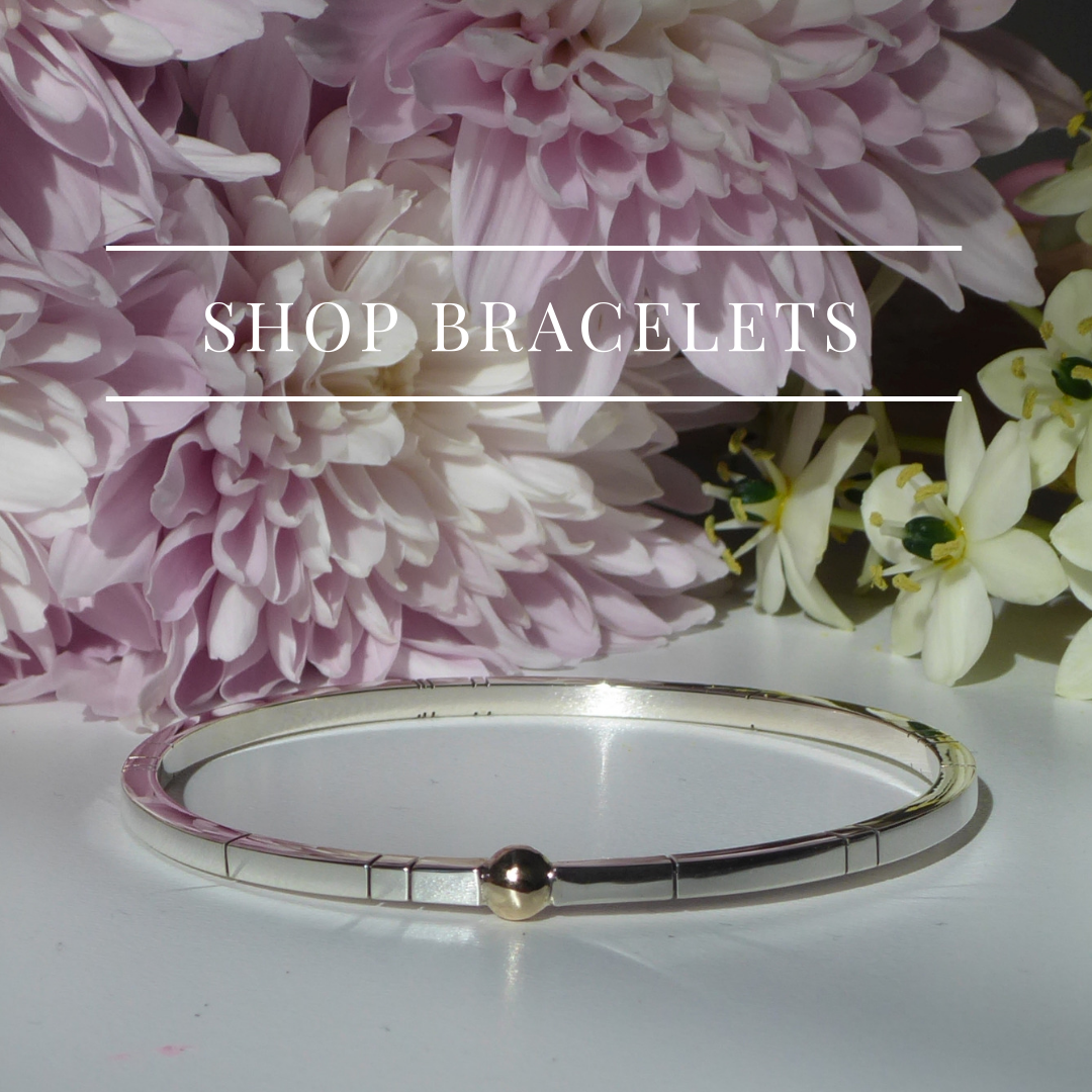 Shop braclets, gold and silver bangle