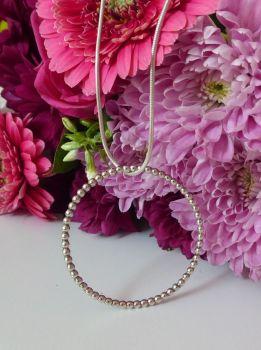 Alto Large Silver Pendant