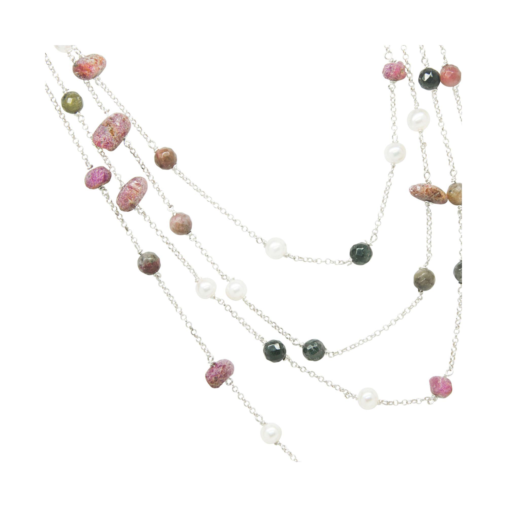 Shop gemstone necklaces