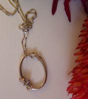 Oval Loopy Love Pendant
