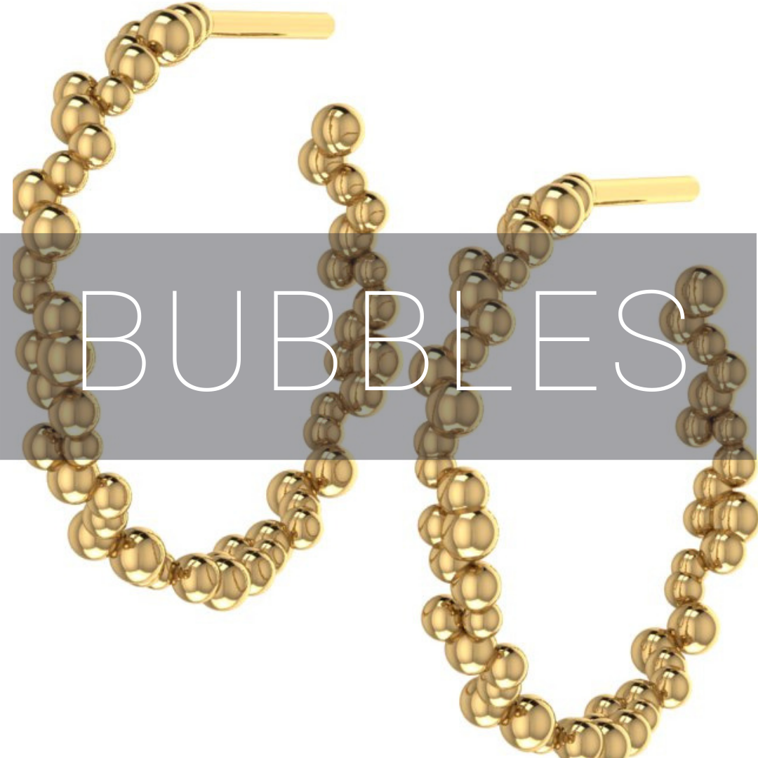bubble inspired jewellery