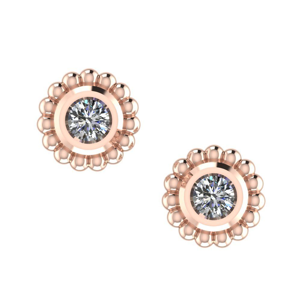 Diamond Mini Alto Earrings