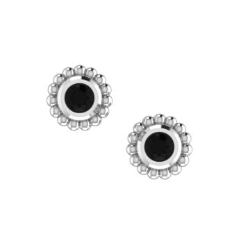 Black Diamond Mini Alto Earrings