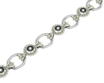 Alto Black Pearl Bracelet