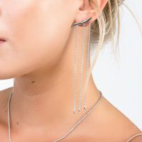 Long Waterfall Earrings