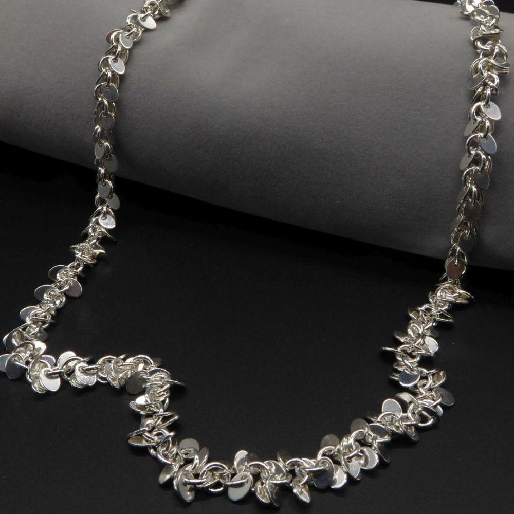Shimmer Tassel Necklace