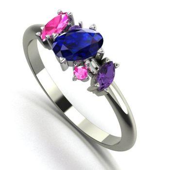 Atlantis - Sapphire Rainbow - Blue