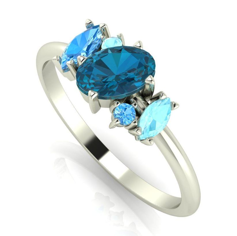 Atlantis Blue: White Gold