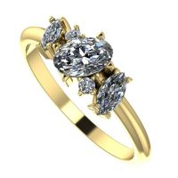 Atlantis: Diamond & Yellow Gold