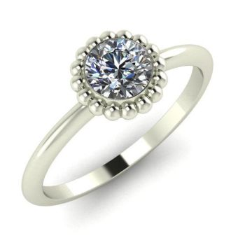 Alto, White Gold and Diamond Ring